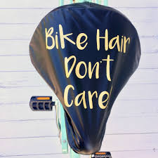 bike hair women s gold print bike seat rain cover