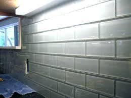 subway tile backsplash installation no grout tile grouting tile no grout glass subway tile