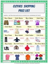 5th Grade Excel Shopping Budget Mr Sillmans Tech Blog