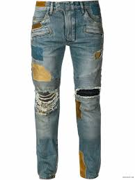 Balmain Men S Size Chart Balmain Spring Summer 2015 Biker Jeans And Trousers Size