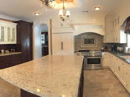 Kitchen Cabinets By Crown Molding Adding To Country Two Tone Simple