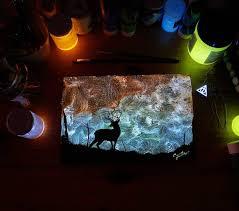 glow in the dark lighting. Glow In The Dark Paint Crisco Art Lighting