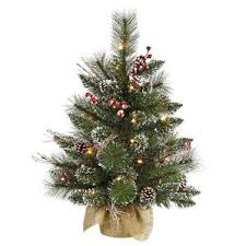 Vickerman 15u0027 Cibola Mixed Berry Artificial Christmas Bush With White Berry Christmas Tree Lights