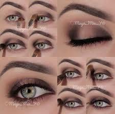 step by step eyeshadow looks