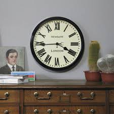 newgate s iconic wall clock collection features railway station clocks modern and minimalist clocks and classic decorative wall clocks