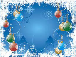 Christmas Background Wallpapers, Blue ...