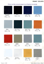 Chevy Stock Chart Color Combination Jim Carter Truck Parts