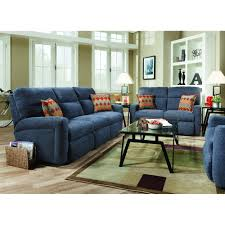 Turquoise Living Room Furniture Tribecca Living Room Reclining Sofa Loveseat Blue 702321