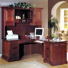 corner office desk ideas. Cherry Computer Desk With Hutch Corner Office Ideas Using Brown  A
