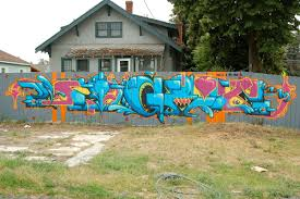 Cool Fence Mural