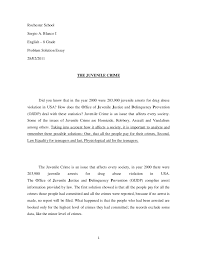 juvenile delinquency essay causes annotated bibliography  essay about youth today essays
