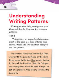 Writing Patterns Adorable 48 Understanding Writing Patterns Thoughtful Learning K48