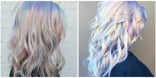 2017 Hair Trend Holographic Opal Hair