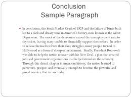 cause and effect writing ppt  conclusion sample paragraph