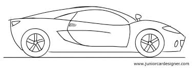 sport cars drawings. Plain Drawings Car Drawing Tutorial Sports Side View With Sport Cars Drawings
