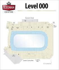 Floor Plans Sleeman Centre