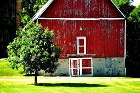 red barn doors. Barn Doors Red A