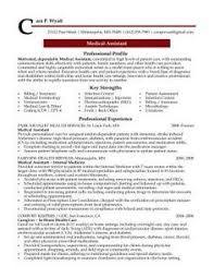 professional resume cover letter sample medical assistant professional resume sample design resumes resume objective for medical assistant