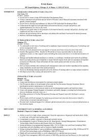 Infrastructure Analyst Resume Sample Infrastructure Analyst Resume Samples Velvet Jobs 1