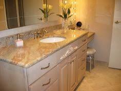 granite bathroom counters. Bathroom Vanities, Furniture Appliances Sophisticated Small Ideas With Rustic White Stained Wooden Cabinet Drawers Using Beautiful Granite Counters