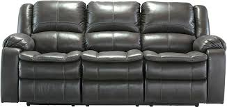 ashley reclining sofa signature design by acieona with drop down table in slate tulen reviews