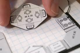 Magnetic Interior Design Kit Interior Designers Kit Of Magnetic Scale Furniture Small