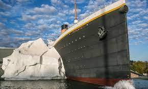 Unglück in Titanic-Museum! Eiswand eingestürzt