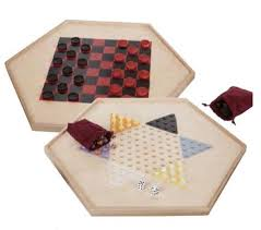 Game With Wooden Board And Marbles 100 CLASSIC CHECKER GAMES Chinese Checkers Traditional Wood 47