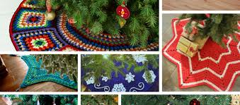 Christmas Tree Skirt Crochet Pattern Interesting 48Crochet Christmas Tree Skirt Free Patterns Knit And Crochet Daily