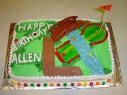 The Cake Cow Miniature Golf Cake