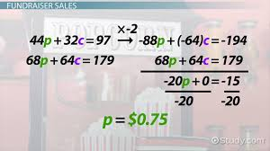 system of equations word problem