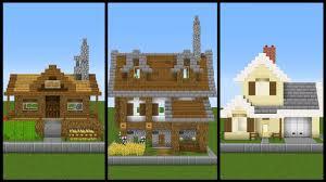 Big Minecraft House Designs 5 Simple One Chunk Minecraft House Designs