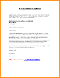 6 Cv Cover Letter Sample Doc Fillin Resume