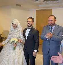 """من هي زوجة نجم طيور الجنة """"الوليد مقداد"""" التي خطفت الأنظار في حفل زفافها  وأدهشت الحاضرين بجمالها الصاخب ؟"""
