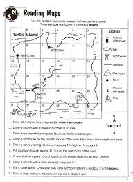 Social Studies Skills Map Worksheets Social Studies