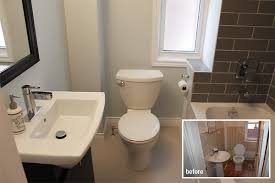 Small Picture Bathroom Renovation Toronto project Before During and After
