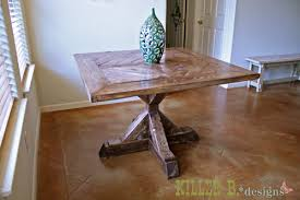 designs and i teamed up on a table project for brooke s sister and to share the plans with you brooke wanted to build a table for her sister that was
