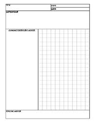 Math Templates Math Note Taking Templates By Elias Robles Iii Tpt