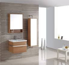 stylish modular wooden bathroom vanity. Bathroom. Two Tones Modular Wooden Floating Mirror Bathroom Faced Off White Table. Unique Stylish Vanity