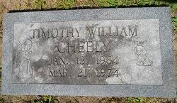 Timothy William Cheely (1964-1974) - Find A Grave Memorial