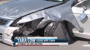 texting and driving accident attorney abilene texas tara low