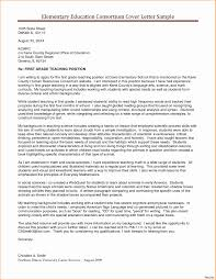 Example Of Education Cover Letters 9 10 Education Cover Letter New Teacher Tablethreeten Com