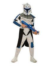Child Star Wars Captain Rex Storm Clone Trooper Fancy Dress Costume Ages  3 10