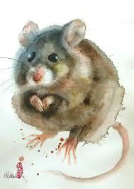 Image result for con chuột tuổi tý