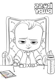 Baby Coloring Sheets Xflt Boss Baby Coloring Page Free Printable