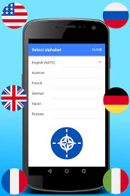 Alphabet alpha phonetisches alphabet nato phonetic alphabet alphabet symbols. Nato Phonetic Alphabet Alfa Bravo Charlie Delta Download Apk Free For Android Apktume Com