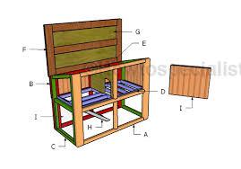 rabbit house plans. Building-a-rabbit-house Rabbit House Plans
