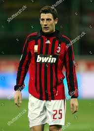 Daniele Bonera AC Milan Editorial Stock Photo - Stock Image
