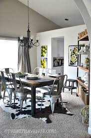 Dining Room Decor Industrial Design The 40th AVENUE Unique Home Decor Dining Room