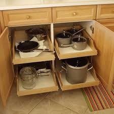 kitchen cabinet storage bins
